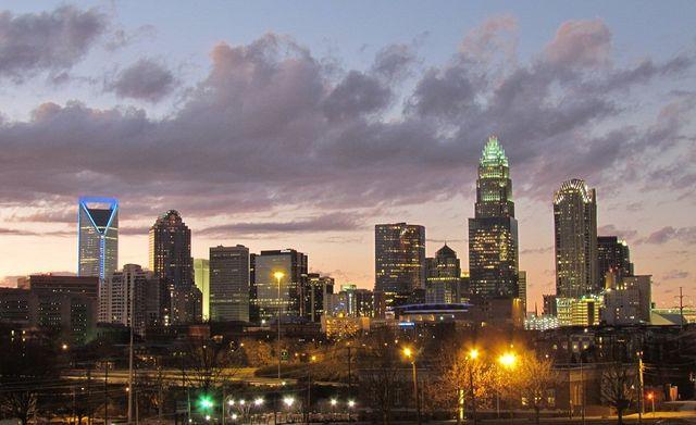 Downtown Charlotte, NC Skyline