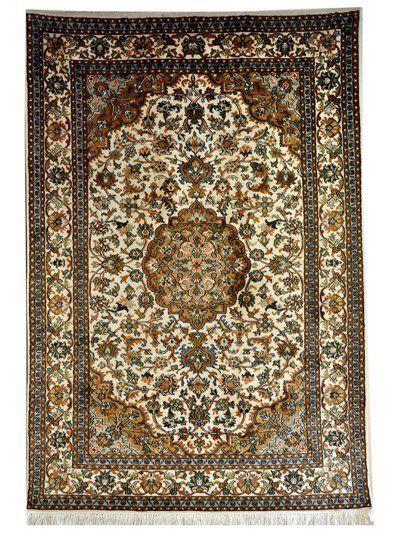 Kashmiri silk rugs