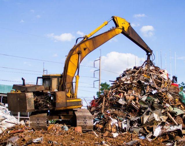 una  disposizione dei rifiuti
