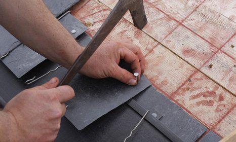 slate roof fitting