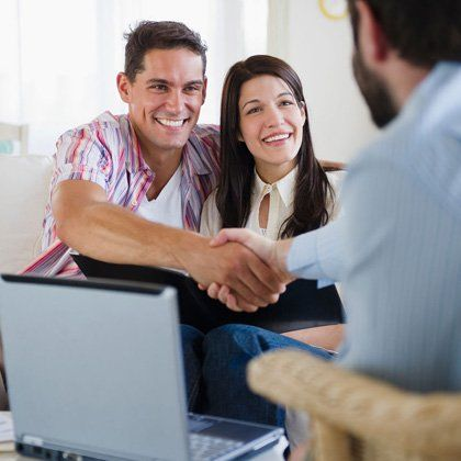 Financial advice at home