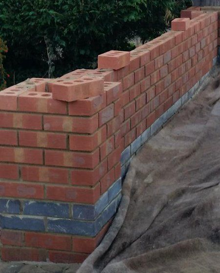 Stone work and brickwork