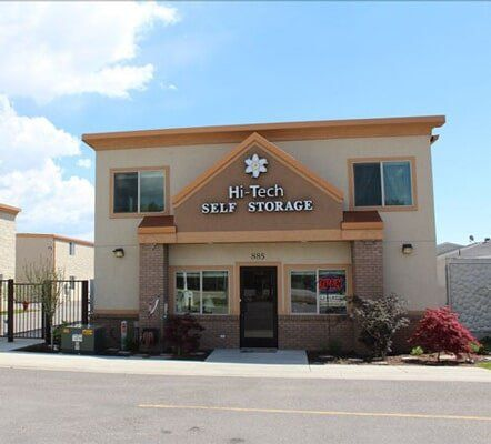 Slide title & Storage Units - Ogden UT - Hi-Tech Self Storage