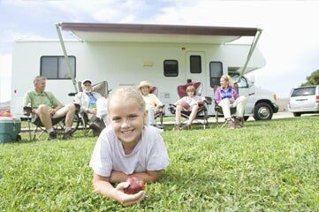 Mobile Home Insurance — Family with Mobile Home in Denver, CO