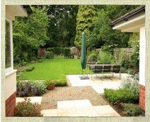 Newly improved garden by Goscote Nurseries