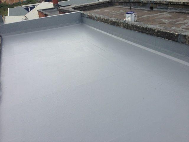 Roof re-felting