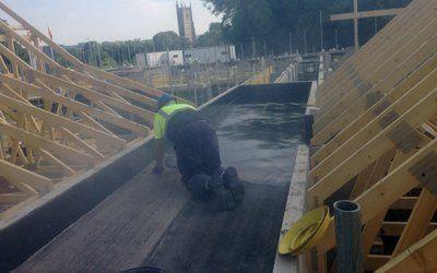 Mastic asphalt flooring