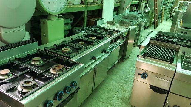 Cucine Industriali Usate Milano.Cucine Usate Milano Mi Gianox Attrezzature Per Ristorazione