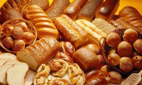 del pane di vario genere