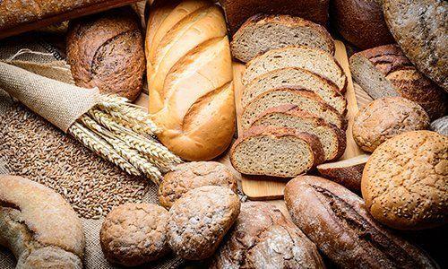 del pane di diversi tipi