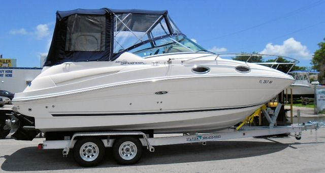 SEA-TECH Aluminum Boat Trailer for a 24 - 26' boat up to 7,000 lbs includes 1 set of Kodiak disc brakes