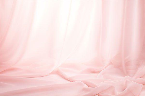 Tende di seta rosa