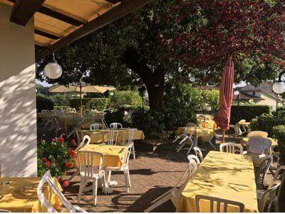 veranda esterna ristorante