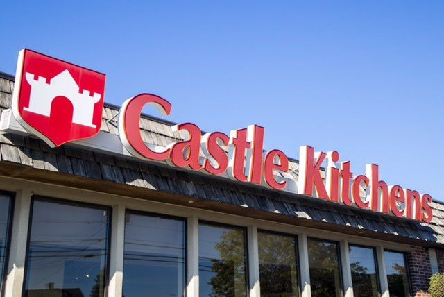 Castle Kitchens Showroom in Scarborough Maine
