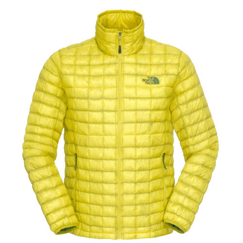 Clothing outer thermo ball jacket