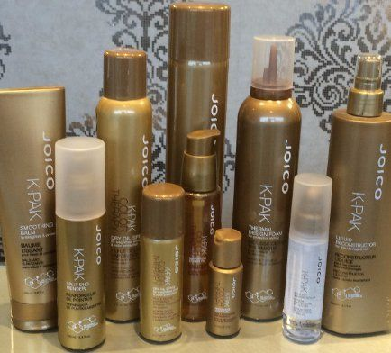 A selection of Joico K-Pak products
