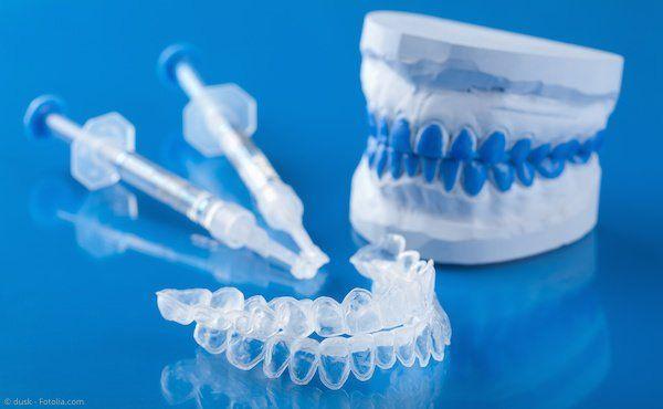Home-Bleaching: Set für die Zahnaufhellung zu Hause