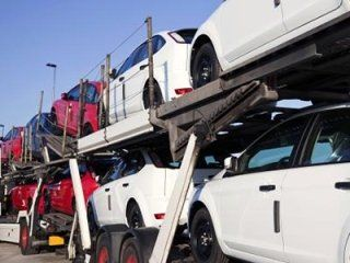 transport using car carrier trailers