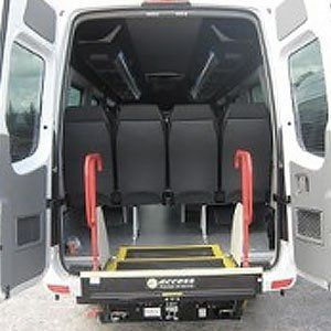 wheelchair friendly minibuses