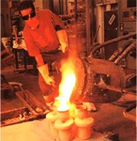 Moulage coque en céramique