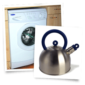 water softener solutions - Bristol, Swindon, Wales - ACW Maintenance Services - washing machine and kettle
