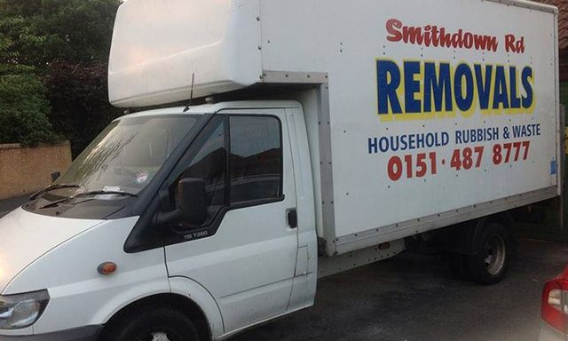 Smithdown House Clearance van