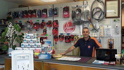 punto vendita di prodotti e pezzi di ricambio per elettrodomestici