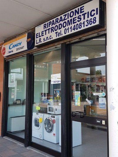 negozio LR per la riparazione di elettromestici