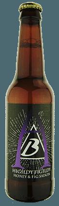 Seasonal beer bottle