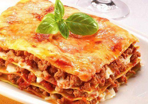 Lasagna al ristorante La Buona Forchetta a Ragusa