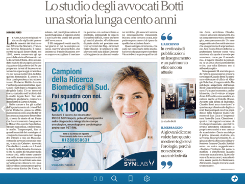 Studio Legale Botti, una storia lunga cento anni