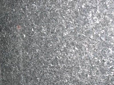 Blue granite surfaces