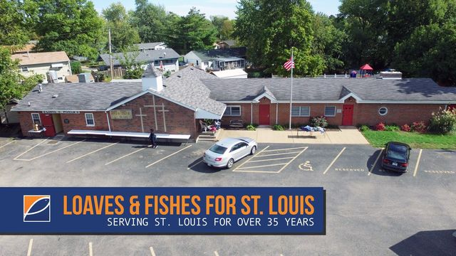 Loaves & Fishes for St. Louis is a food pantry and homeless shelter