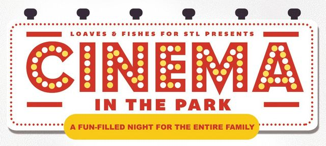 Cinema In The Park event for Loaves and Fishes for St. Louis