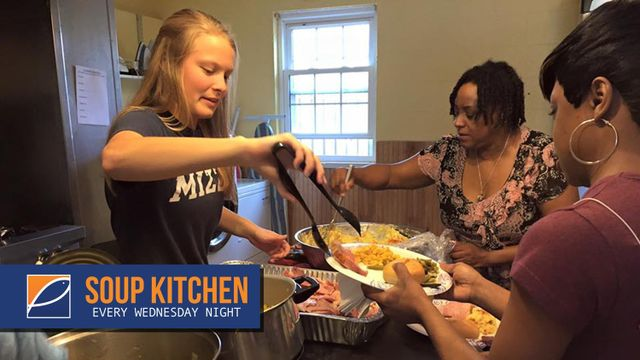 Loaves & Fishes for St. Louis - Soup Kitchen every Wednesday night