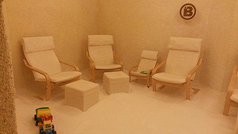 Sedute di halobenessere con salgemma in provincia di Trento