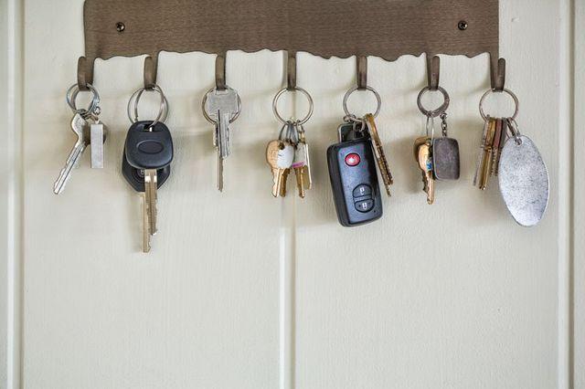 dei mazzi di chiavi