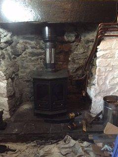 New chimney system build