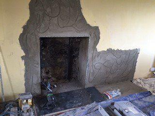 Chimney maintenance work
