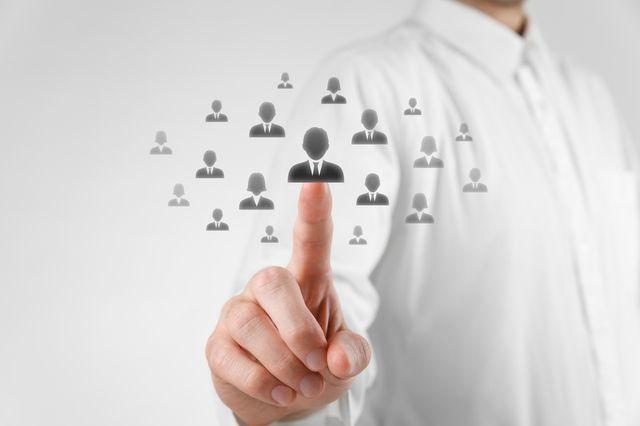 Employer selecting employees discriminantly