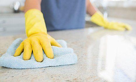 granite worktop cleaning