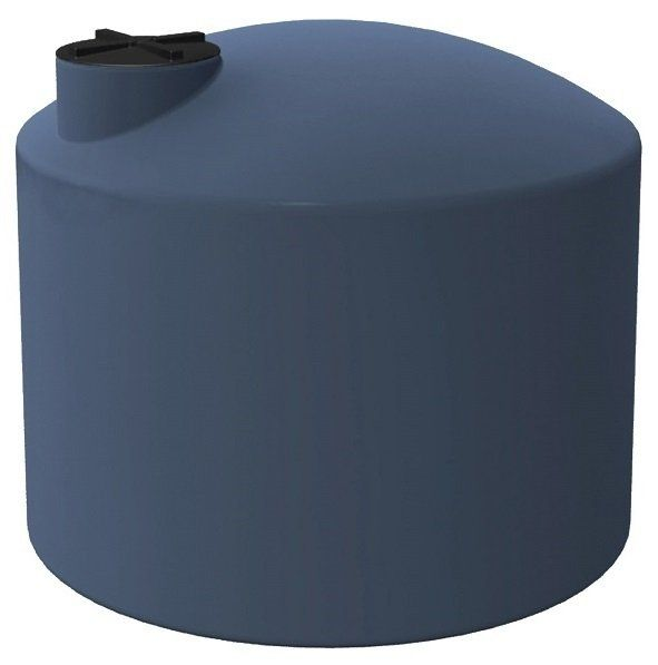3000-Litre-Squat-Round-Poly-Water-Tank-Brisbane