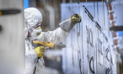 Bespoke powder coating