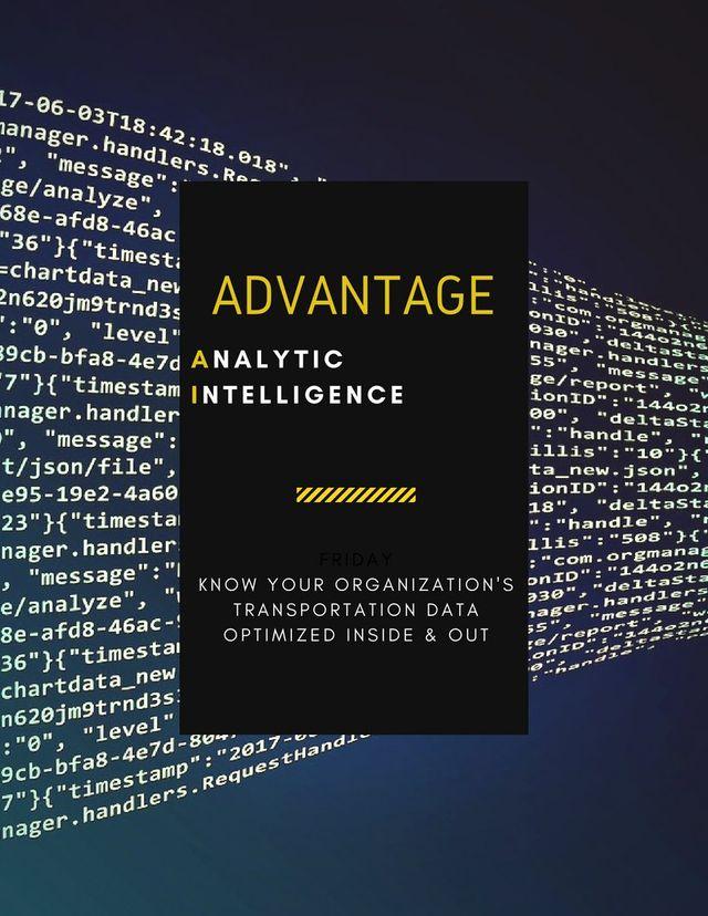 Technology Management Image: Advantage Analytic Intelligence