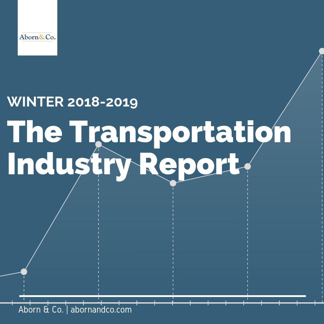 The Transportation Industry Report: Winter 2018-2019