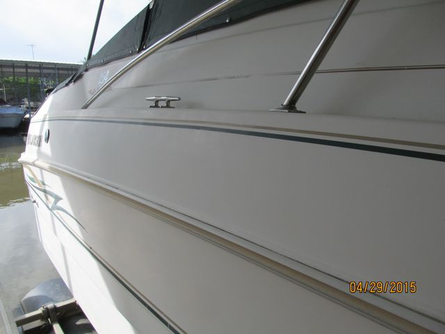 boat detailing before picture