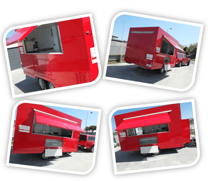 Mobile Kitchen Hawks bay