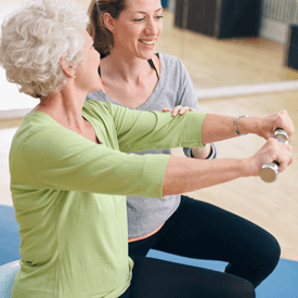 Aldersgate Village Independent Living Image of Ladies Exercising