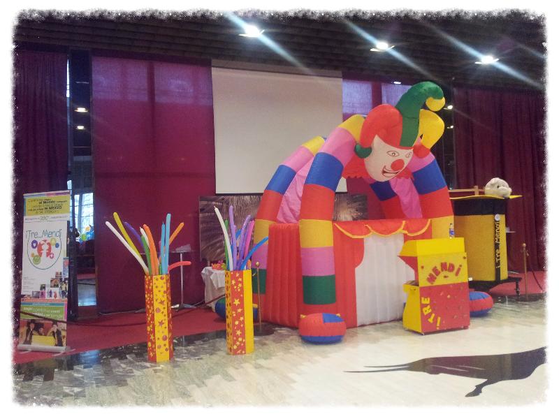 area giochi gonfiabili per bambini