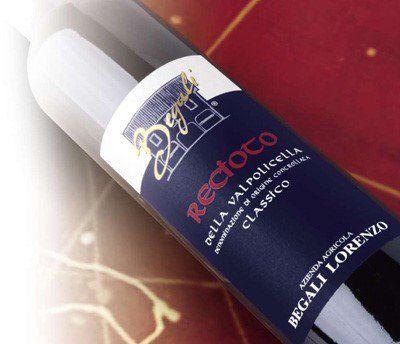 bottiglia di Recioto Classico